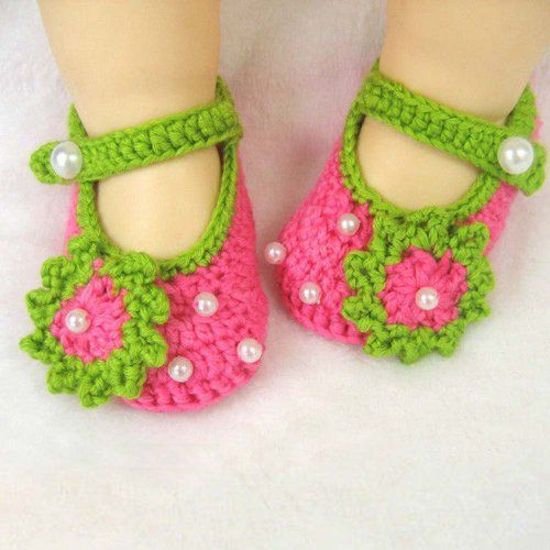 10 Cute Crochet Baby Booties 2015 Pattern For Eid Special 10 Cute Crochet Baby Booties 2015 Pattern For Eid Special 4
