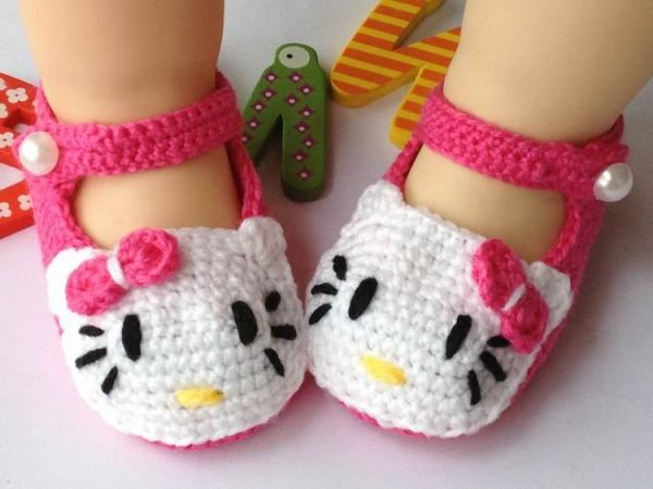 10 Cute Crochet Baby Booties 2015 Pattern For Eid Special 10 Cute Crochet Baby Booties 2015 Pattern For Eid Special 5