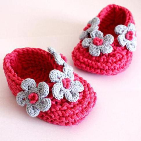 10 Cute Crochet Baby Booties 2015 Pattern For Eid Special 10 Cute Crochet Baby Booties 2015 Pattern For Eid Special 7