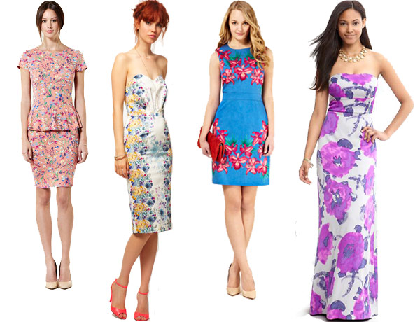 Floral-Trend-2  10 Best Wedding Guest Outfits 2015 Floral Trend 2