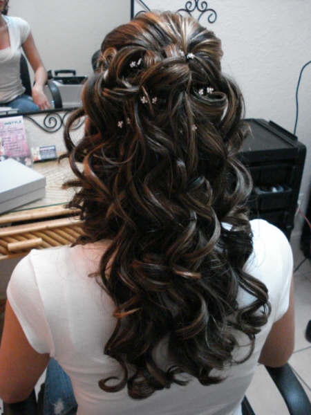 Half up Half down Hairstyles 2015 - 4  10 Awesome Half up Half down Hairstyles 2015 Half up Half down Hairstyles 2015 4