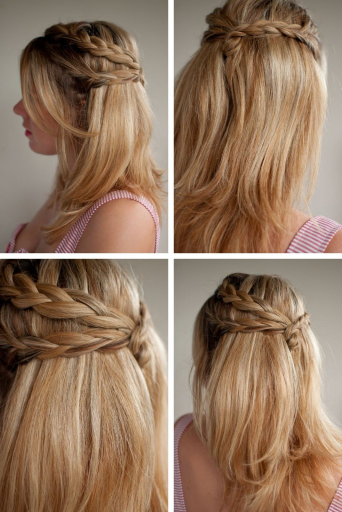 Half up Half down Hairstyles 2015 -6  10 Awesome Half up Half down Hairstyles 2015 Half up Half down Hairstyles 2015 6