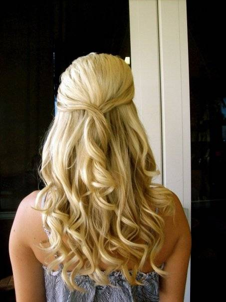 Half up Half down Hairstyles 2015 -7  10 Awesome Half up Half down Hairstyles 2015 Half up Half down Hairstyles 2015 7