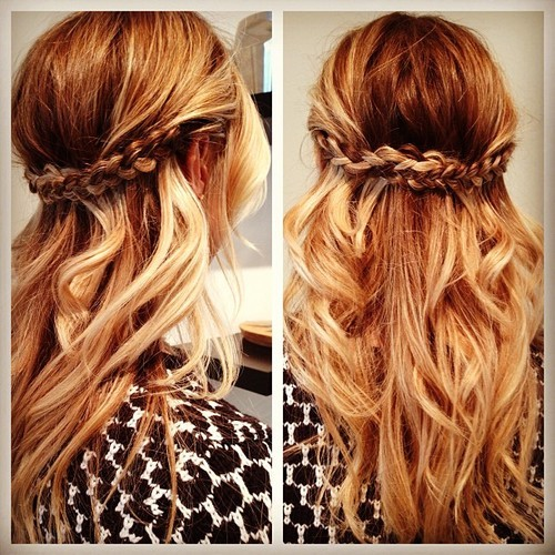 Half up Half down Hairstyles 2015  10 Awesome Half up Half down Hairstyles 2015 Half up Half down Hairstyles 2015 8