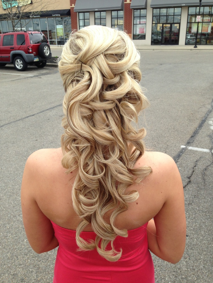 Half up Half down Hairstyles 2015 -9  10 Awesome Half up Half down Hairstyles 2015 Half up Half down Hairstyles 2015 9