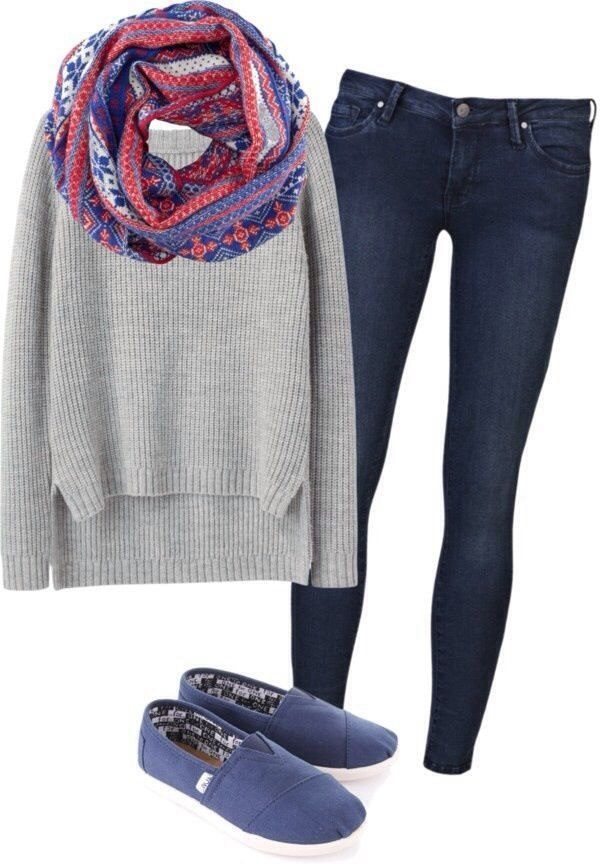 Winter outfits for teenage girls