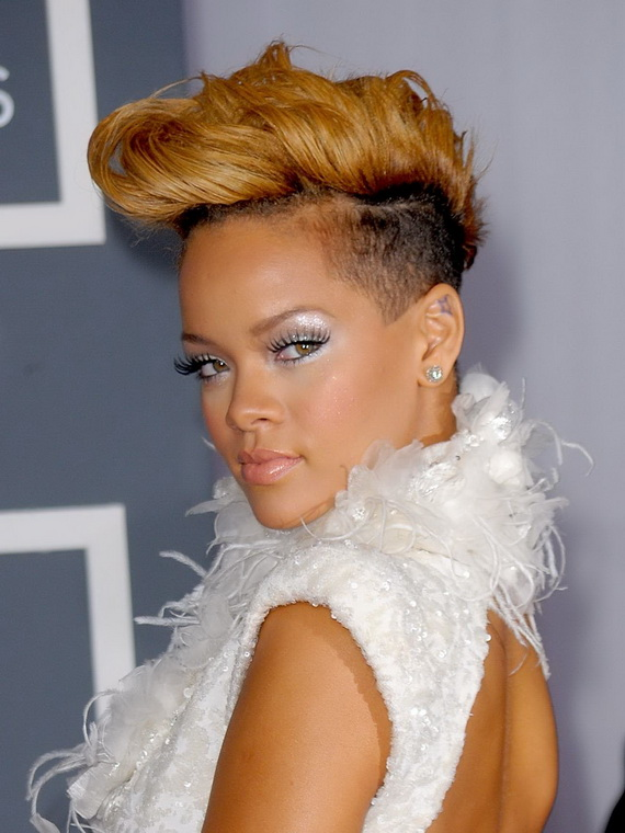 The 52nd Annual GRAMMY Awards - Arrivals  10 Winter Short Haircuts for Women 2015 hairstyle 7