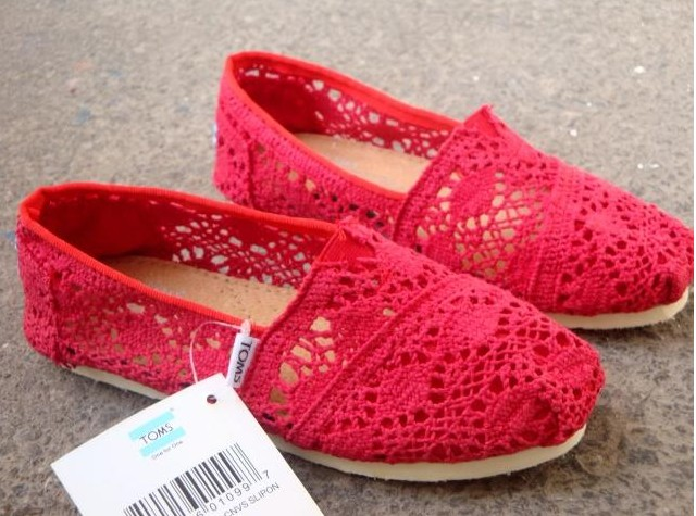 red lace shoes10  10 Valentine 2016 Red Lace Shoes for Girls red lace shoes10