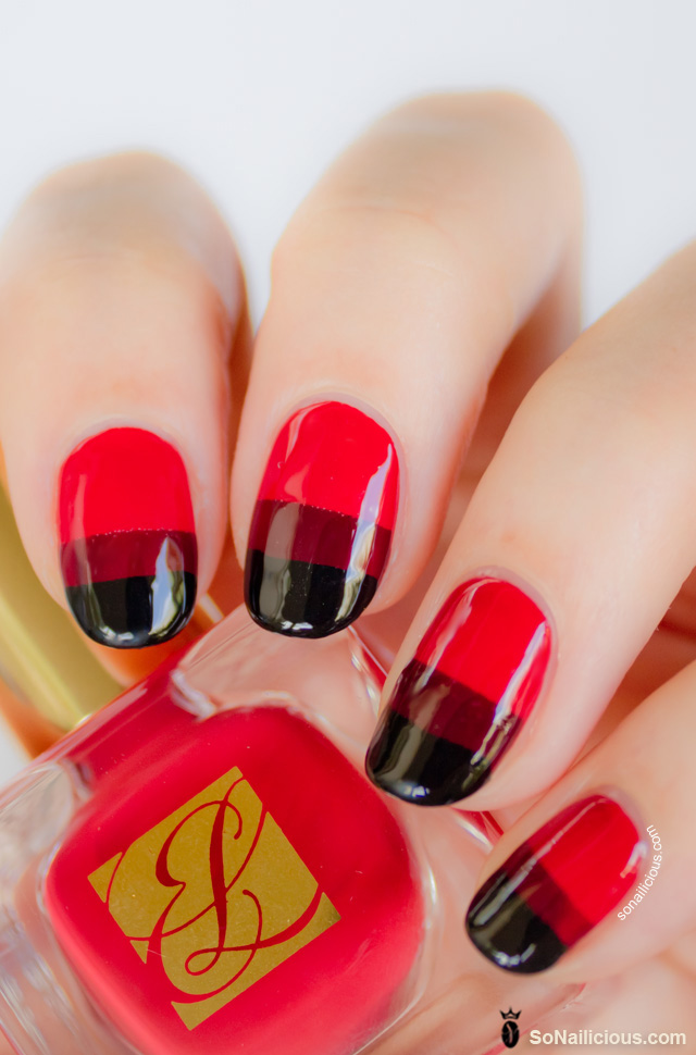 red nail designs 3  10 Attractive Red Nail Designs 2015 red nail designs 3