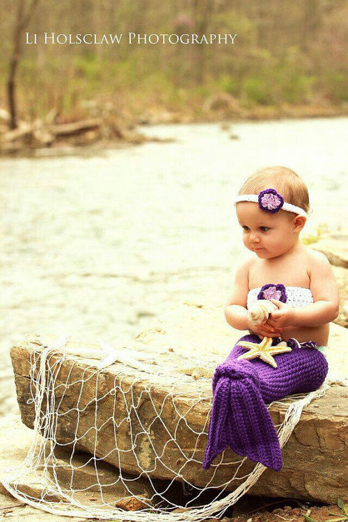 10 12 Cute Mermaid Dresses for Baby 2015 12 Cute Mermaid Dresses for Baby 2015 1028