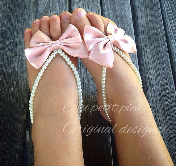 10 40 Cute DIY Baby Barefoot Sandals 2015 40 Cute DIY Baby Barefoot Sandals 2015 1033