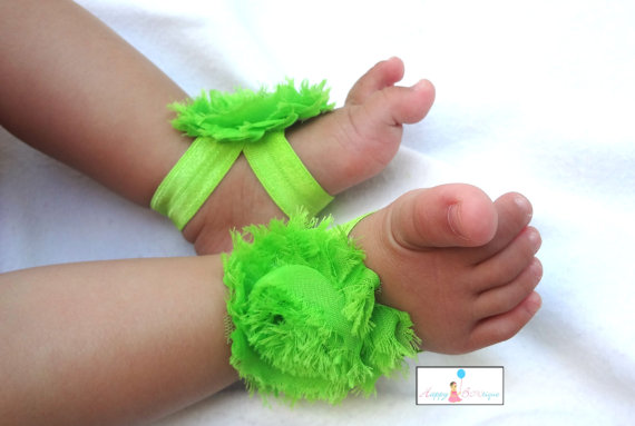 10 40 Cute DIY Baby Barefoot Sandals 2015 40 Cute DIY Baby Barefoot Sandals 2015 1035