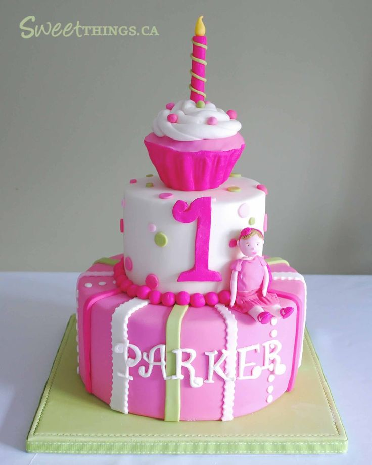 11 10 First Birthday Cake ideas for Girl 2015 10 First Birthday Cake ideas for Girl 2015 1117
