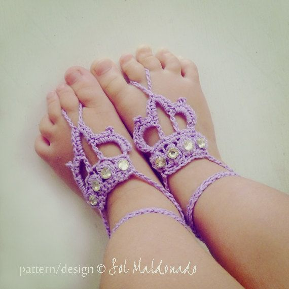 111 40 Cute DIY Baby Barefoot Sandals 2015 40 Cute DIY Baby Barefoot Sandals 2015 1119