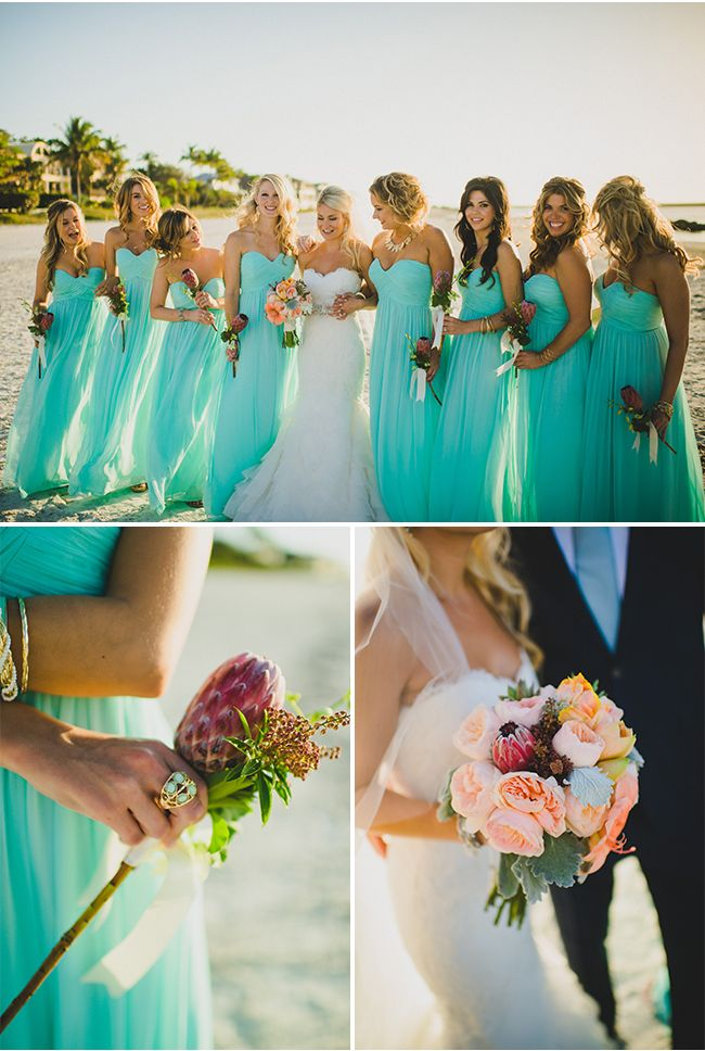 14 21 Colorful Beach Bridesmaid Dresses 2015 21 Colorful Beach Bridesmaid Dresses 2015 1410