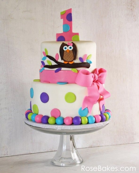 Cake Ideas For First Birthday Girl : 10 First Birthday Cake ideas for Girl 2015