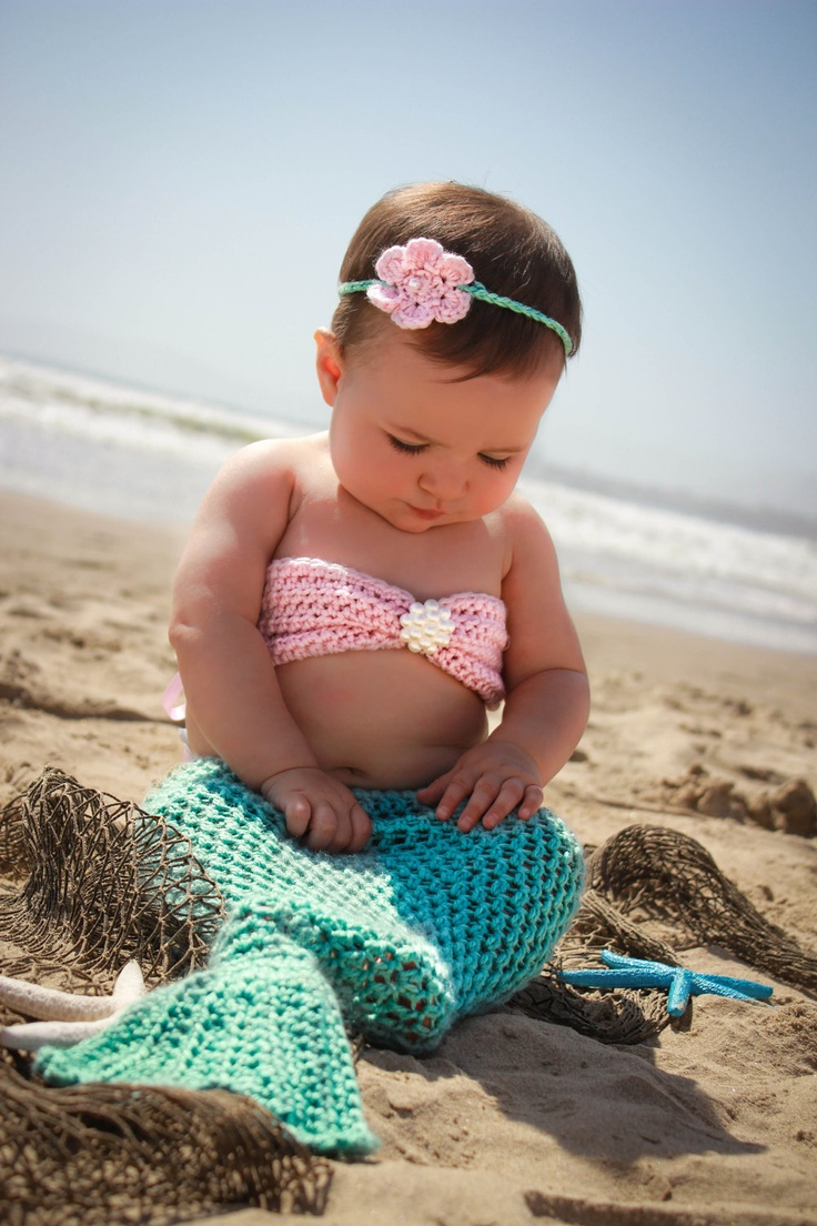 Cute Mermaid Dresses Baby