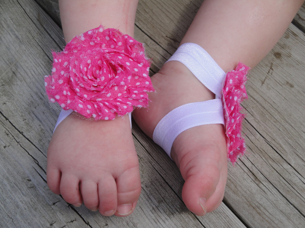 2 40 Cute DIY Baby Barefoot Sandals 2015 40 Cute DIY Baby Barefoot Sandals 2015 237