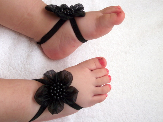 2 40 Cute DIY Baby Barefoot Sandals 2015 40 Cute DIY Baby Barefoot Sandals 2015 238