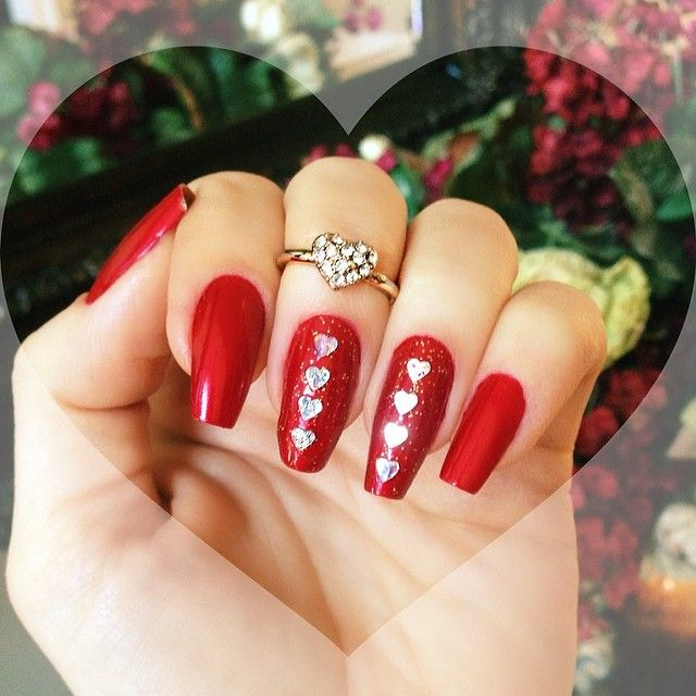 10 Amazing Valentines Nail Designs 2015