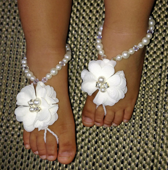 3 40 Cute DIY Baby Barefoot Sandals 2015 40 Cute DIY Baby Barefoot Sandals 2015 331