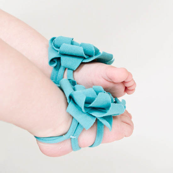 3 40 Cute DIY Baby Barefoot Sandals 2015 40 Cute DIY Baby Barefoot Sandals 2015 332