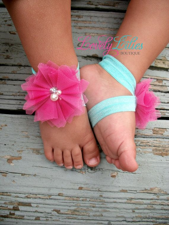 4 40 Cute DIY Baby Barefoot Sandals 2015 40 Cute DIY Baby Barefoot Sandals 2015 430