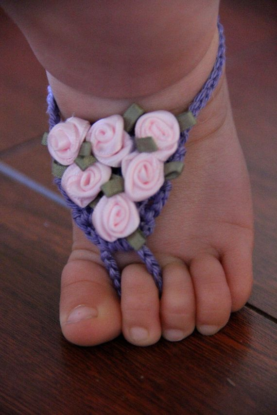 4 40 Cute DIY Baby Barefoot Sandals 2015 40 Cute DIY Baby Barefoot Sandals 2015 431