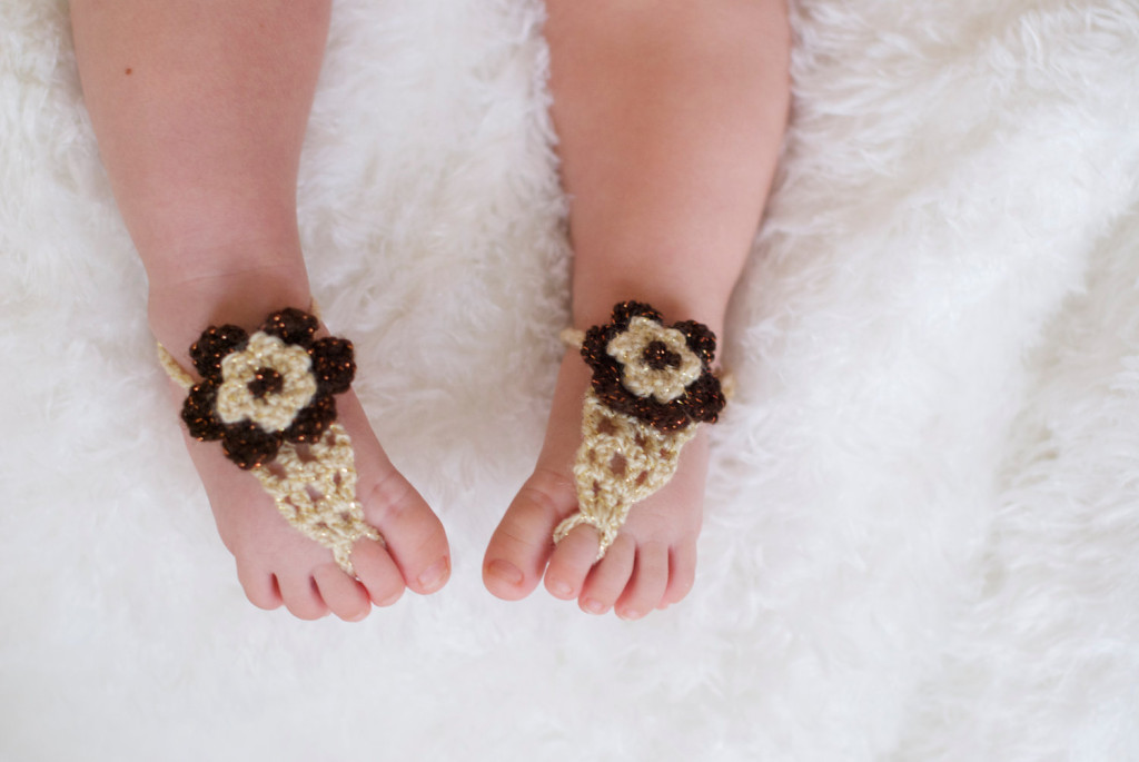 4 40 Cute DIY Baby Barefoot Sandals 2015 40 Cute DIY Baby Barefoot Sandals 2015 432