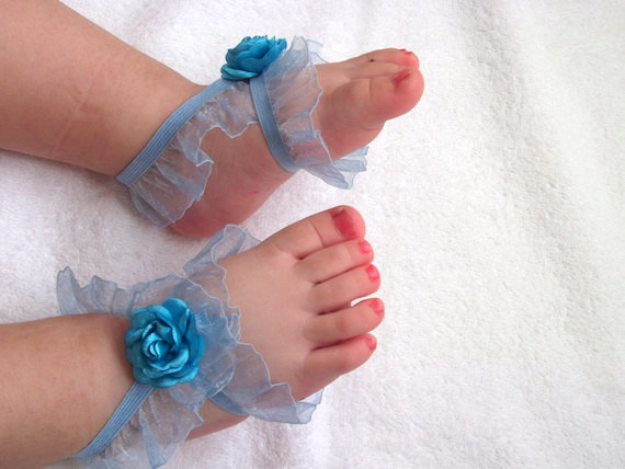 5 40 Cute DIY Baby Barefoot Sandals 2015 40 Cute DIY Baby Barefoot Sandals 2015 531