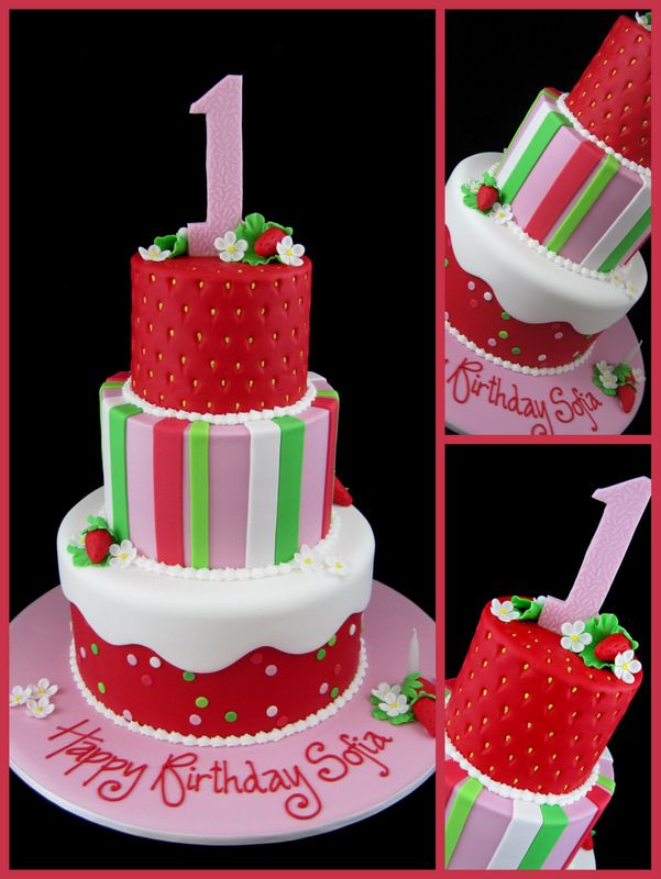 10 First Birthday Cake ideas for Girl 2015