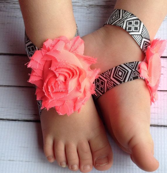 6 40 Cute DIY Baby Barefoot Sandals 2015 40 Cute DIY Baby Barefoot Sandals 2015 632