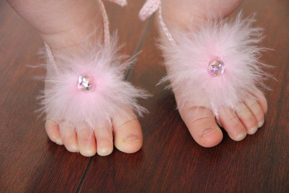 6 40 Cute DIY Baby Barefoot Sandals 2015 40 Cute DIY Baby Barefoot Sandals 2015 633