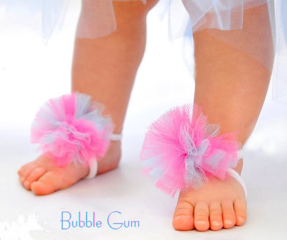 6 40 Cute DIY Baby Barefoot Sandals 2015 40 Cute DIY Baby Barefoot Sandals 2015 634
