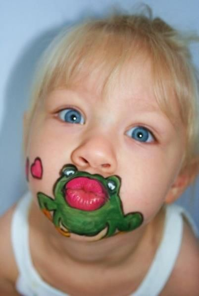 7 10 Cute Face Painting Designs for Kids 2015 10 Cute Face Painting Designs for Kids 2015 721