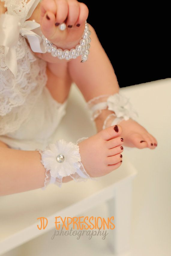 7 40 Cute DIY Baby Barefoot Sandals 2015 40 Cute DIY Baby Barefoot Sandals 2015 731