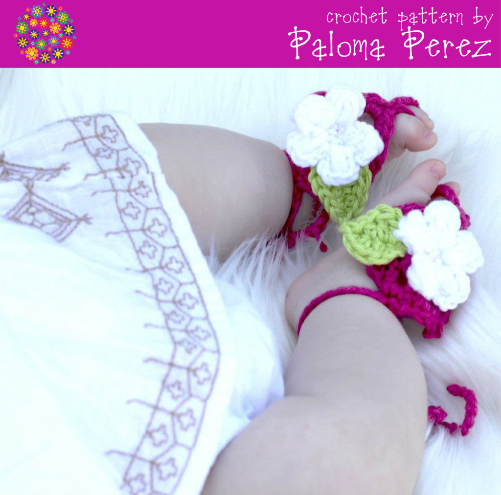 7 40 Cute DIY Baby Barefoot Sandals 2015 40 Cute DIY Baby Barefoot Sandals 2015 732