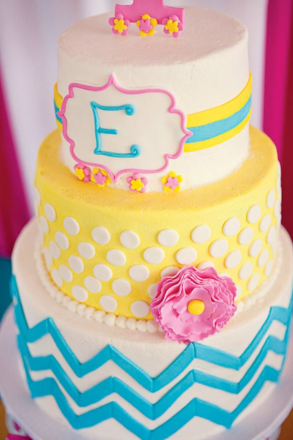 8 10 First Birthday Cake ideas for Girl 2015 10 First Birthday Cake ideas for Girl 2015 825