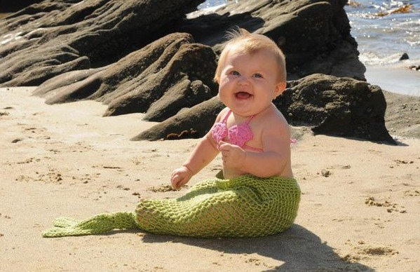8 12 Cute Mermaid Dresses for Baby 2015 12 Cute Mermaid Dresses for Baby 2015 826