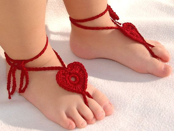 8 40 Cute DIY Baby Barefoot Sandals 2015 40 Cute DIY Baby Barefoot Sandals 2015 831