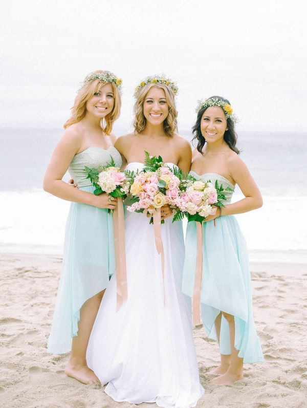 8 21 Colorful Beach Bridesmaid Dresses 2017 833