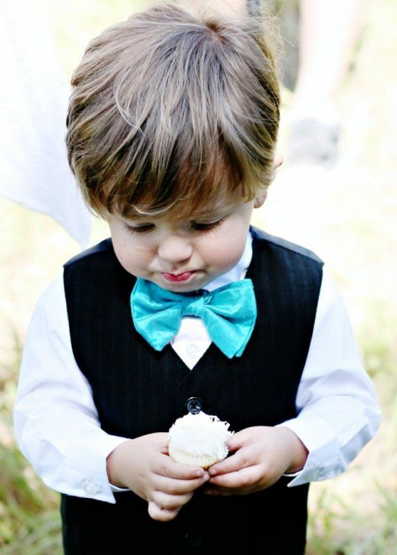 9 10 Stylish and Cute Little Boy Bow Ties 2015 10 Stylish and Cute Little Boy Bow Ties 2015 917