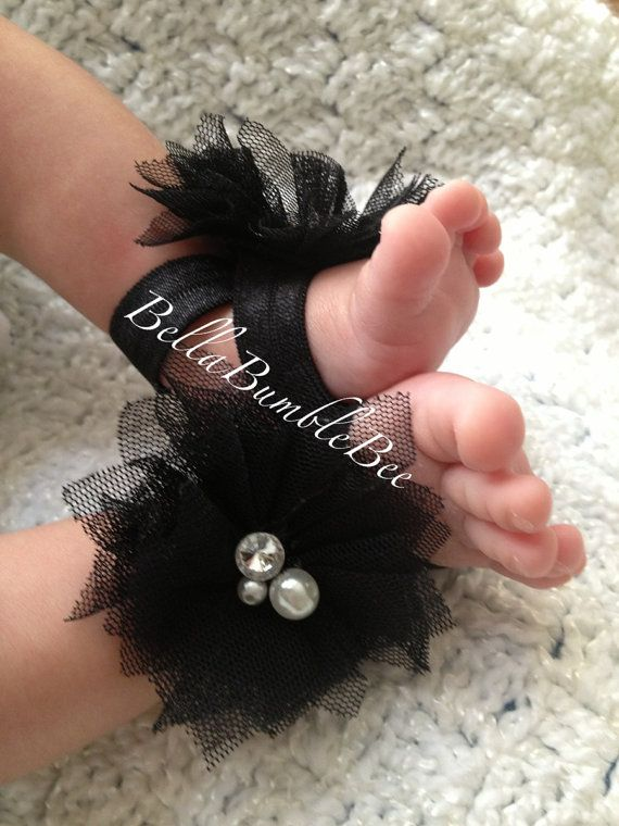 9 40 Cute DIY Baby Barefoot Sandals 2015 40 Cute DIY Baby Barefoot Sandals 2015 929