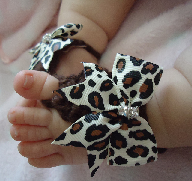 9 40 Cute DIY Baby Barefoot Sandals 2015 40 Cute DIY Baby Barefoot Sandals 2015 931