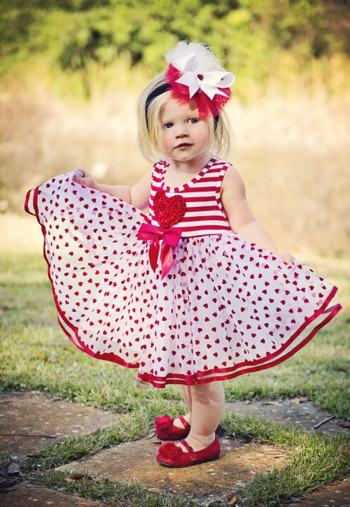 10 Cute Baby Girl Valentineu0026#39;s Day Outfits 2015