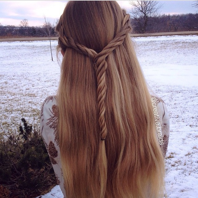 30 Cute and Easy Hairstyles for Girls 2015 30 Cute and Easy Hairstyles for Girls 2015 Princess Hairstyles 10