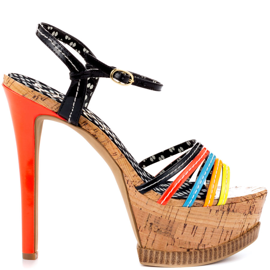 20 Mind-blowing Multi Color Sandals 2015 20 Mind-blowing Multi Color Sandals 2015 multi color sandal 13