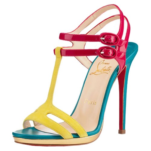 20 Mind-blowing Multi Color Sandals 2015 20 Mind-blowing Multi Color Sandals 2015 multi color sandal 14