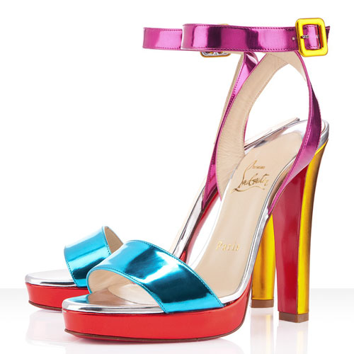 20 Mind-blowing Multi Color Sandals 2015 20 Mind-blowing Multi Color Sandals 2015 multi color sandal 15