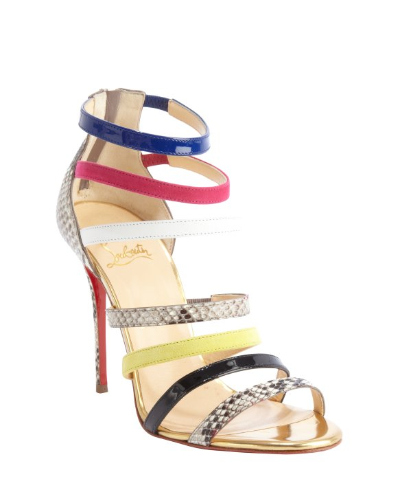 20 Mind-blowing Multi Color Sandals 2015 20 Mind-blowing Multi Color Sandals 2015 multi color sandal 19